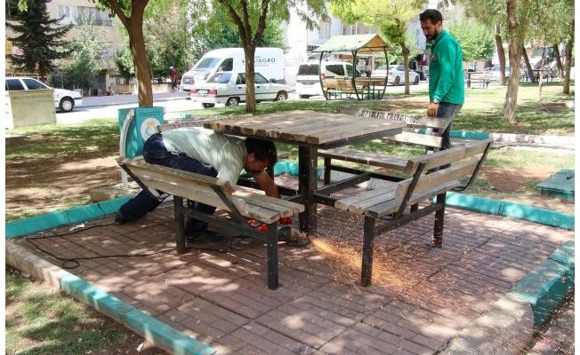 Haliliye'de 4 park yenileniyor