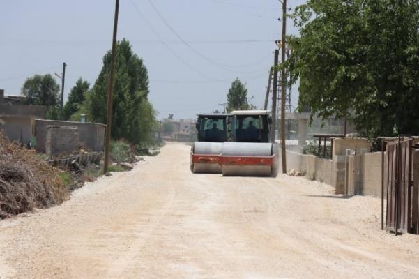 Harran Kırsalında Yollar Asfaltlanıyor