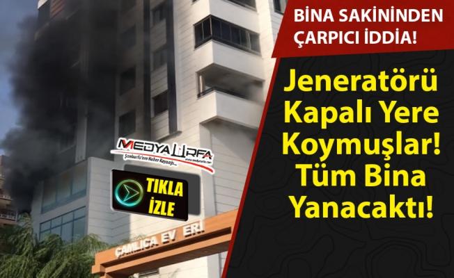 Karaköprü'deki yangında marketin ihmali mi var ?