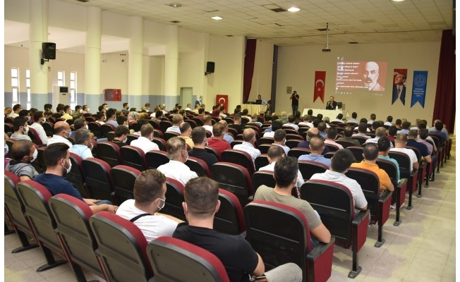 Şanlıurfa'da aşılama için toplantılar düzenleniyor