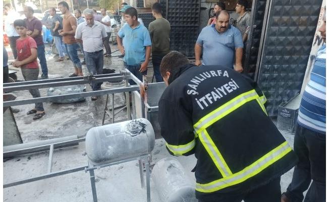 Şanlıurfa'da otomobilin LPG deposu patladı: 6 yaralı