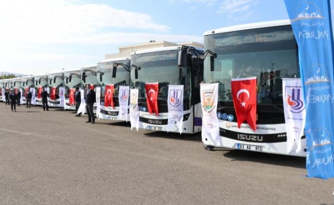 Şanlıurfa'da toplu taşıma ücretsiz olacak