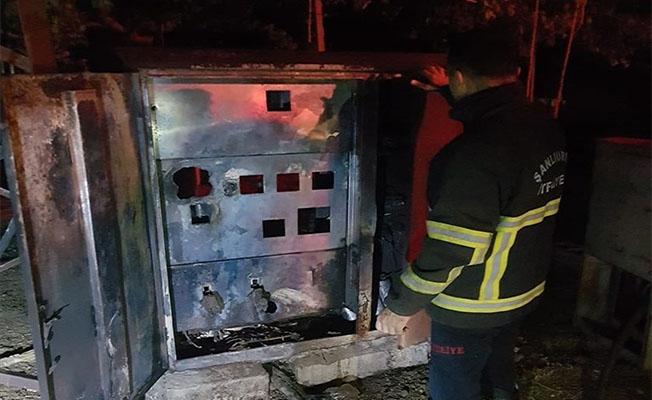 Şanlıurfa'da trafoda çıkan yangın söndürüldü
