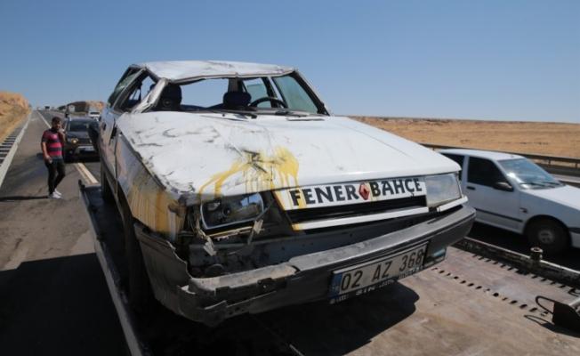 Şanlıurfa'da zincirleme trafik kazası: 8 kişi yaralandı