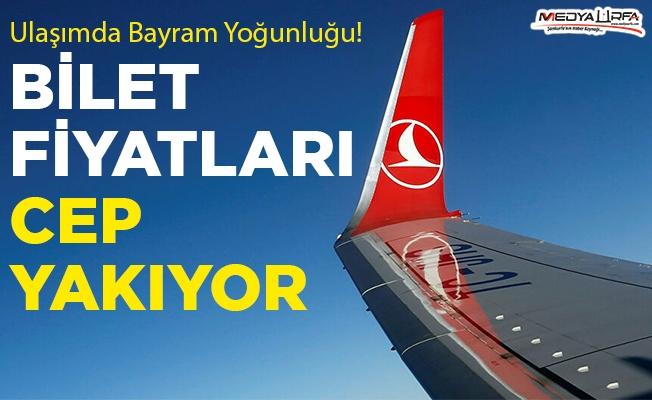 Şanlıurfa-İstanbul uçak bileti fiyatları cep yakıyor