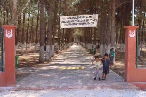 Akçakale Kent Parkı ve Mesire Alanı Açılış İçin Gün Sayıyor