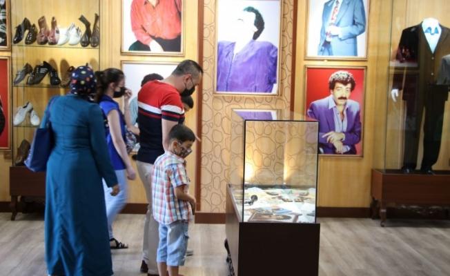En baba müzeye vatandaşlardan yoğun ilgi