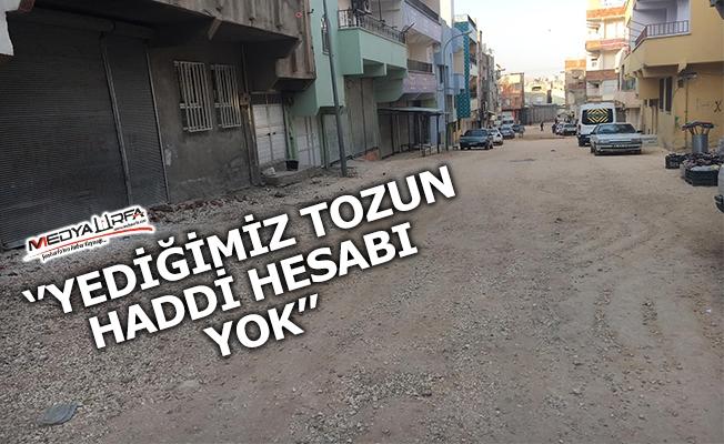Eyyübiye'de vatandaşlardan yol tepkisi
