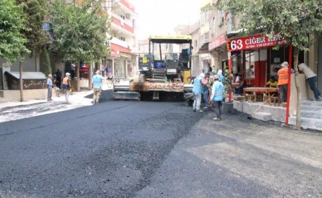 Haliliye Demir İzzet Caddesinde Asfalt Çalışması