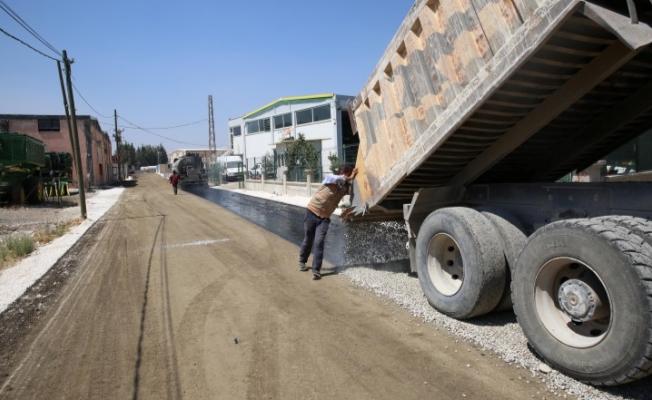 Haliliye kırsalında asfalt atağı sürüyor