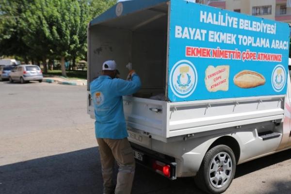 Halilye Belediyesi israfı önlüyor