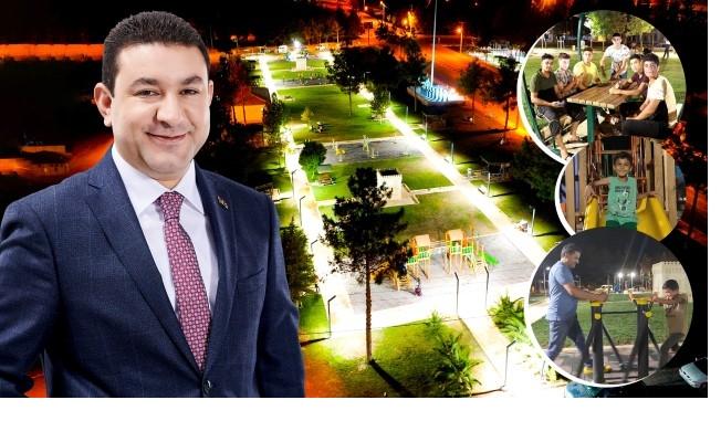 Harran Belediyesi, İlçenin Dört Bir Yanına Yeni Parklar Kazandırıyor