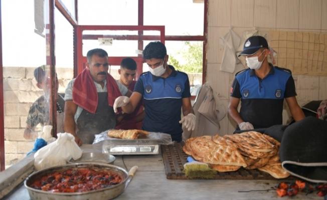 Harran'da Zabıta Ekiplerini Denetimlerini Sürdürüyor