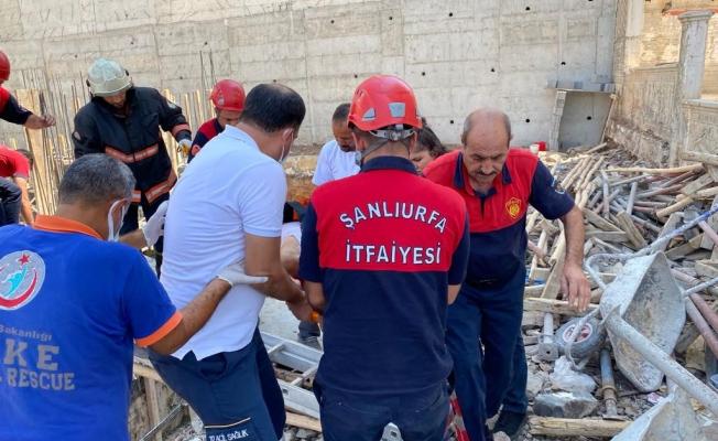İnşaat boşluğuna düşen işçi ağır yaralandı