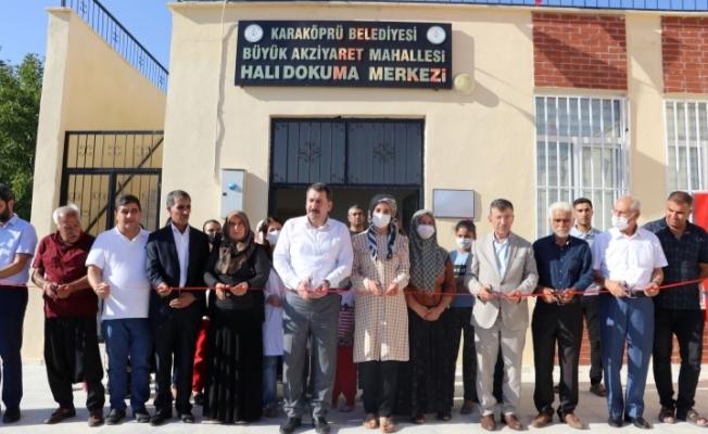 Karaköprü'de kadınların üretim merkezi hizmete açıldı