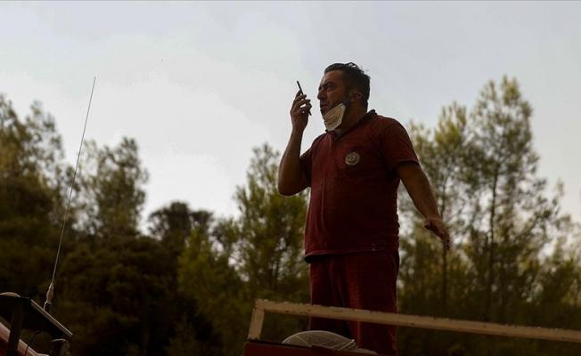 Orman işçisinin oğluyla telefon konuşması duygulandırdı