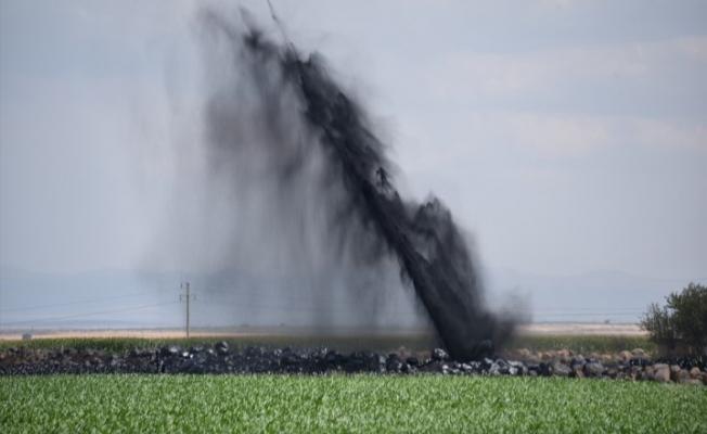 Şanlıurfa'da BOTAŞ petrol boru hattı patladı