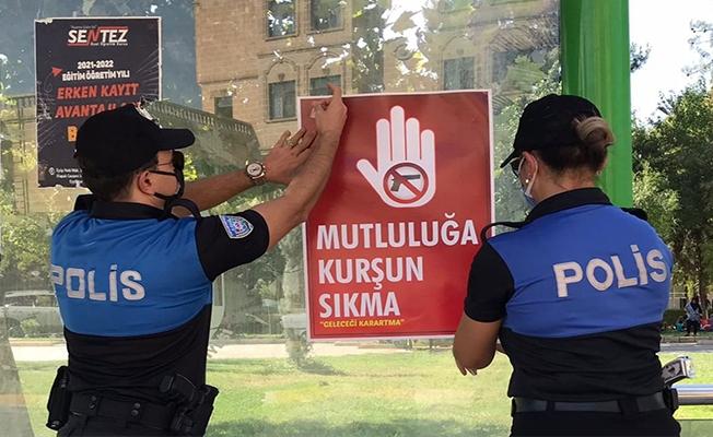 Şanlıurfa'da silah sıkılmaması konusunda vatandaşlar uyarıldı