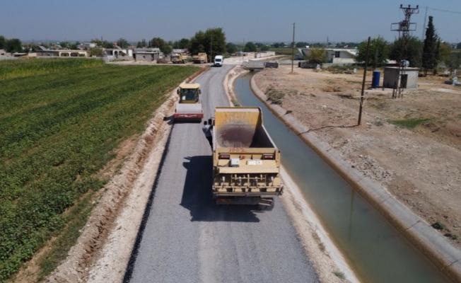 Akçakale kırsalında sathi asfalt atağı