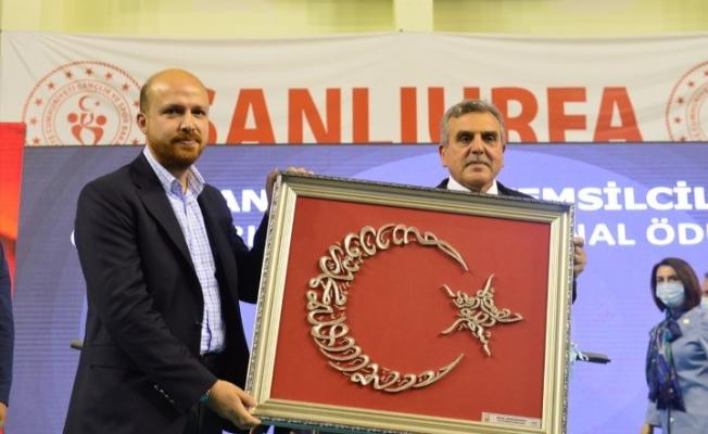 Bilal Erdoğan Şanlıurfa'da öğrencilere şiir okudu
