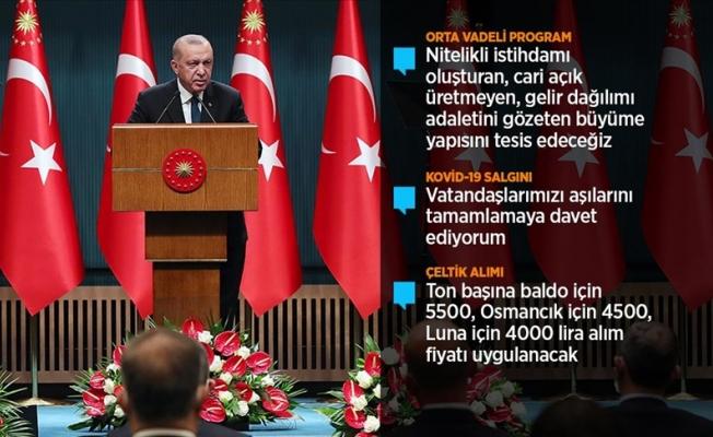 Erdoğan: Vatandaşlarımız afet planlarını gözden geçirsinler