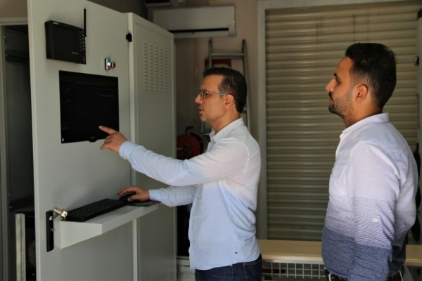 """HRÜ'de """"yoğunlaştırılmış güneş kolektörü"""" geliştirildi"""