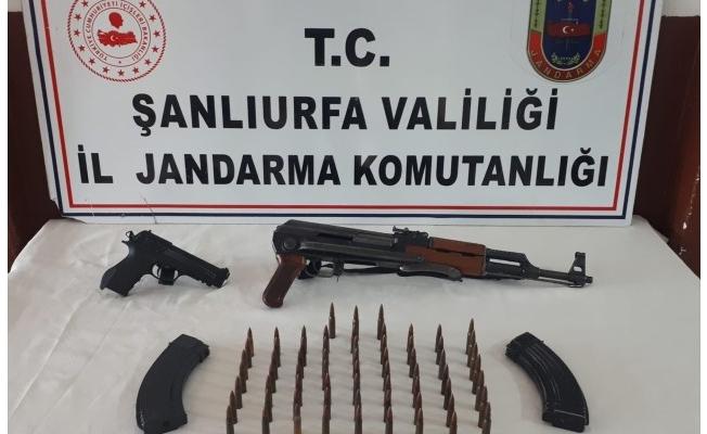 Şanlıurfa'da silah kaçakçılığı yapan şüpheli yakalandı