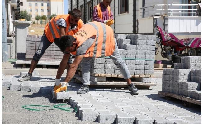 Seyrantepe'de parke çalışmaları sürüyor