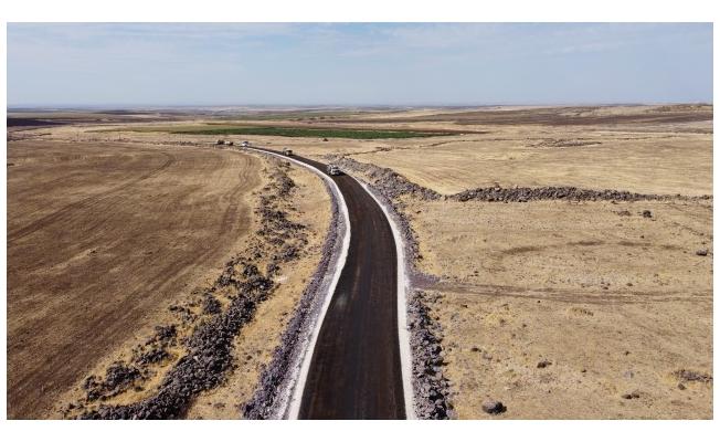 Siverek kırsalında sathi asfalt atağı