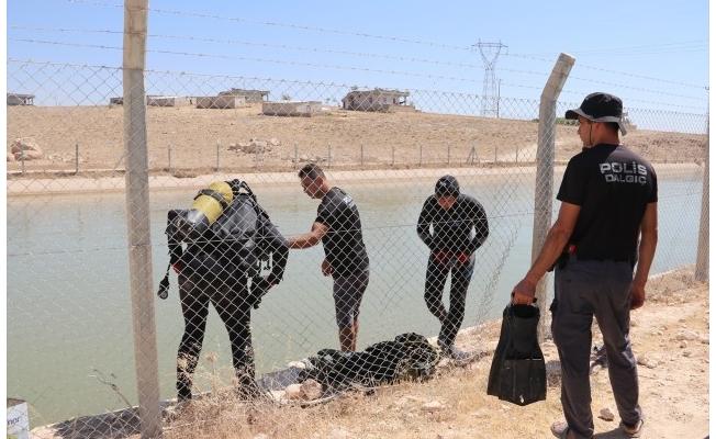 Sulama kanalına düşen çocuğun cesedine ulaşıldı