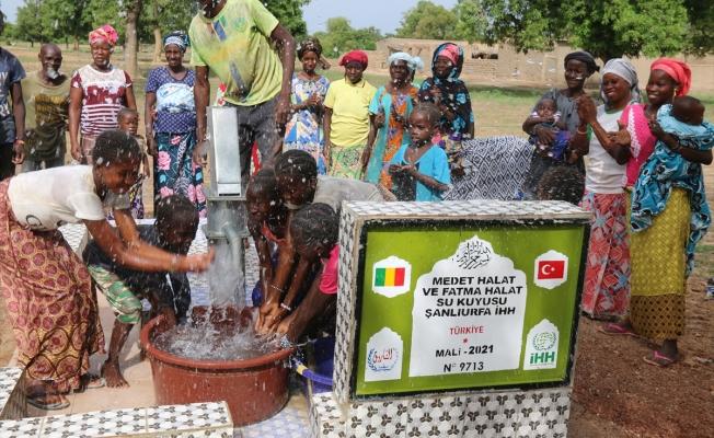 Urfalı şehidin anne ve babasının ismi Mali'de açılan su kuyusuna verildi