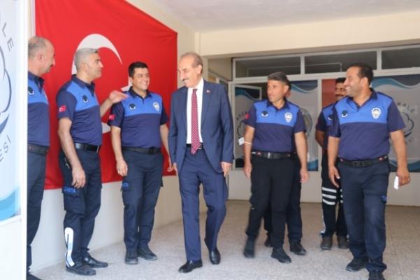 Yalçınkaya'dan Zabıta Haftasında Anlamlı Ziyaret