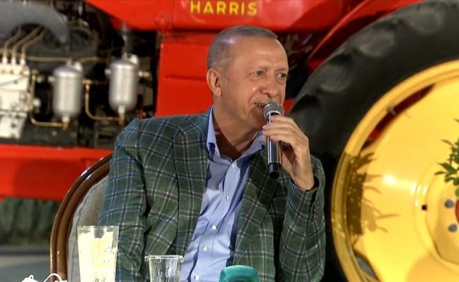 Adana'da Erdoğan'ı şaşırtan anlar