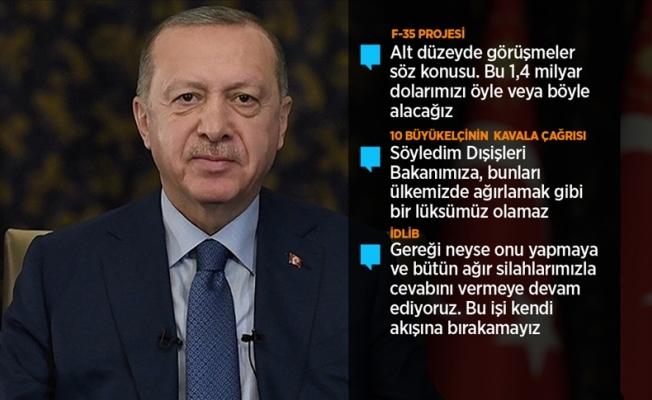 Erdoğan'dan seçim açıklaması