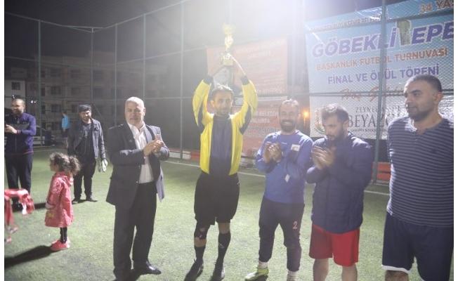 Göbeklitepe Başkanlık Halı Saha Maçı Kupası Sahibini Buldu