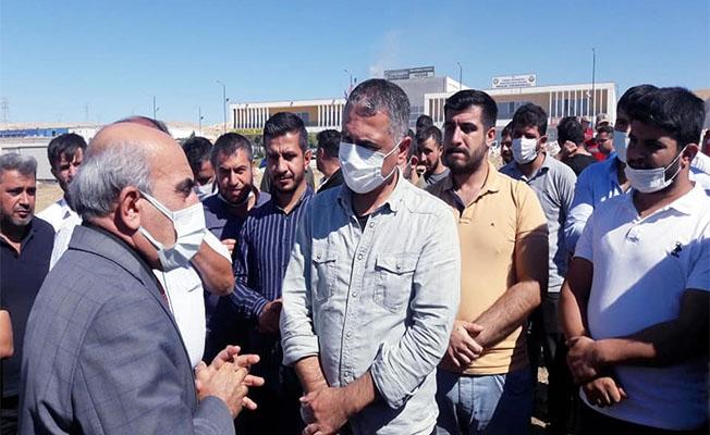 Şanlıurfa'da CHP'den İşten Çıkarılan İşçilere Destek