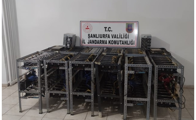 """Şanlıurfa'da """"kripto para"""" operasyonu: İki şüpheli yakalandı"""