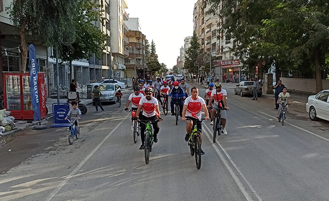 Suruç'ta bisiklet turu düzenlendi