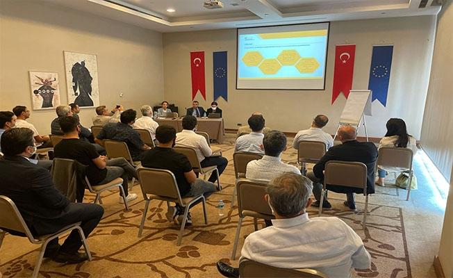 Türk ve Suriyeli girişimcilere verilecek destekler tanıtıldı
