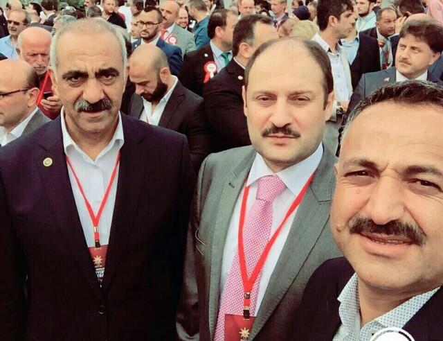 Gülpınar, AK Parti'nin Kutlama Programında