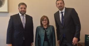 Fatma Şahin, Önen ve Türkoğlu'nu Ziyaret Etti