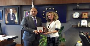Slovakya Büyükelçisi, Gülpınar'ı Ziyaret Etti