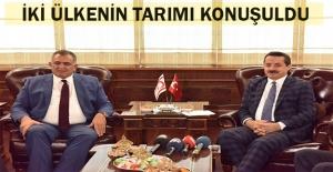 Bakan Çelik, Kıbrıs'lı Mevkidaşını Ağırladı