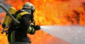 Siverek'te ev yangını!