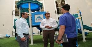 Yeni Hastanenin Çehresini Eyyübiye Belediyesi Şekillendiriyor
