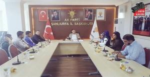 AK Parti'de Medya Tanıtım Toplantısı