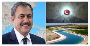 Atatürk Barajı'ndan Suruç'a Nehir Akıyor