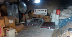 Jandarma'dan Sahte İçki Operasyonu