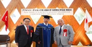 Japon Üniversitesinden Ahmet Çalık'a Doktoru Ünvanı
