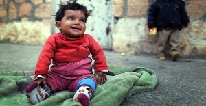 Suriyeli Anneler Çocuklara Masal Anlattı